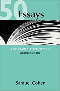 "Cover of ""50 Essays: A Portable Anthology..."
