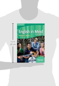 Livres Couvertures de English in Mind Level 2 Student's Book with DVD-ROM