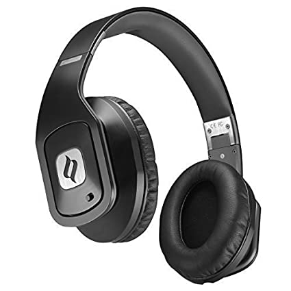 Noontec Noise Cancelling Over-ear Headphones Hammo GO The One Choice For Audiophiles Pure Sound Quality, Foldable, Adjustable Stereo Headsets 3.5mm Plug Compatible with Iphone, Ipad, Samsung, Sony Andriod Smartphones (3.5MM Jack)