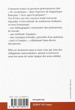Telecharger Ancien Francais Fiches De Vocabulaire Pdf