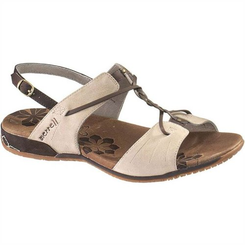 Merrell Women's Micca Sandal (7, Silver Lining)