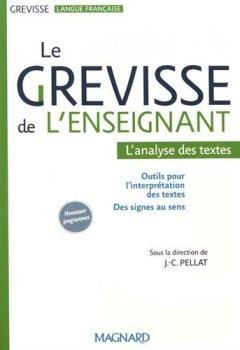 Livres Couvertures de Le Grevisse de l'enseignant : L'analyse de textes