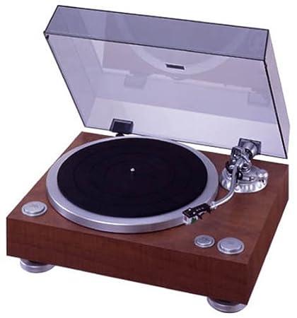 DENON アナログレコードプレーヤー 木目 DP-500M