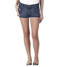 Juniors' Mossimo Supply Co. Denim Porkchop Tab Shorts - Medium Wash