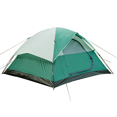 Large Door, 3-Person, Lightweight Water Resistan Camping Tent with Carry Bag