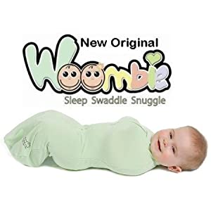 The Original Woombie Baby Cocoon Swaddle