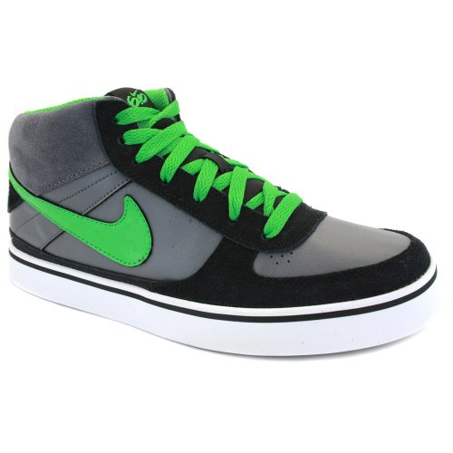 Nike 6.0 Kid Mavrik Mid Lace Up Sneakers 386712 007 schwarz Grau - K5
