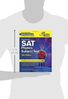 Livres Couvertures de Cracking the SAT Physics Subject Test, 15th Edition