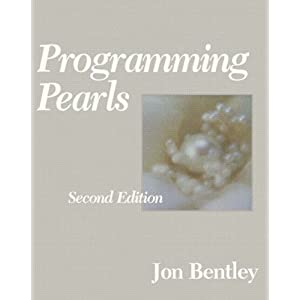 Programming pearls, de Jon Bentley