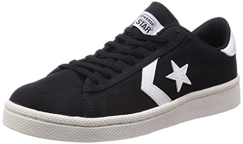 [コンバース] CONVERSE XL PRO-LEATHER CANVAS OX XL PRO LE CVS BLK (ブラック/7.5)