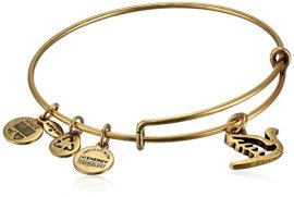 Alex-and-Ani-Bangle-Bar-Sacred-Dove-Gold-Color-Charm-Bracelet-775