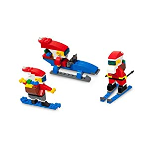 LEGO Christmas Cool Santas Holiday Set