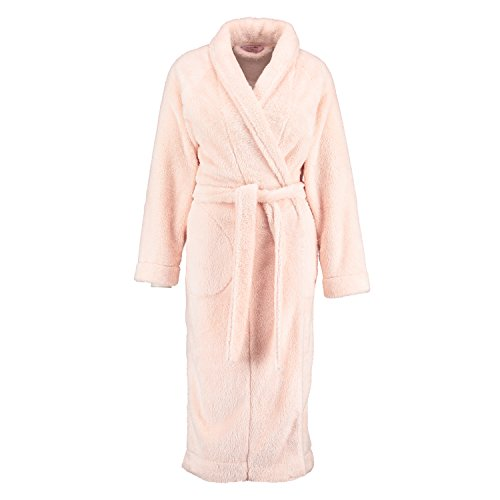 Hunkemöller Damen Langer Bademantel Fleece Glazed 114350