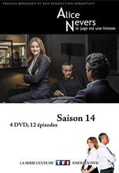 Livres Couvertures de Alice Nevers, le juge est une femme Saison 14  (4 DVD)