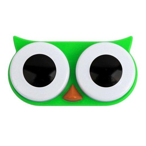 Kontaktlinsenbehälter SWEET OWL green