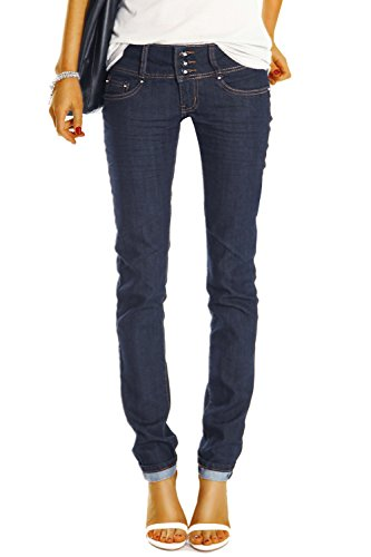 Bestyledberlin Damen Skinny Jeans Röhrenjeans, Hüftjeans Hose Slim Fit Stretch Jeanshose j0axx