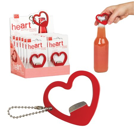 Heart Shaped Bottle Opener