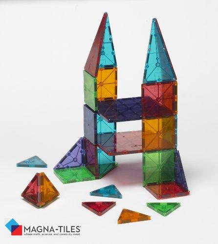 Valtech Co. Magna-Tiles Clear Colors 32 Piece Set