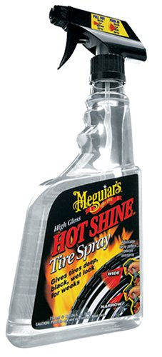 Meguiar's G12024 Hot Shine High Gloss Tire Spray - 24 oz.