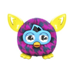 Furby-Furbling-Critter-Pink-and-Blue-Houndstooth