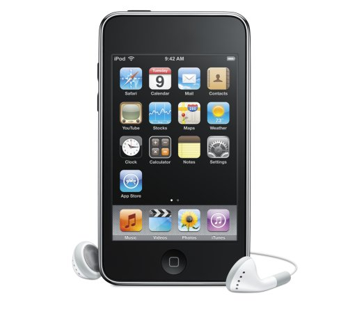 This is a picture of my iPod Touch.  It is an 8GB 2nd Generation iPod