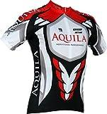 AQUILA Team Kurzarm Radtrikot / Radsporttrikot für Rennrad-, MTB- und Freizeitradler - auch für andere Speedsportarten, z.B. Indoor Cycling und Speedskating