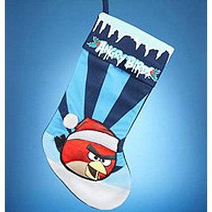 Angry Birds 19 Red Bird Applique Stocking