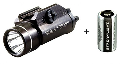 Streamlight's TLR-1 is a very popular tactical light choice.