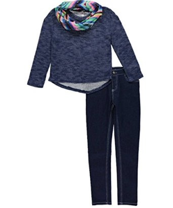 Kensie-Girls-Big-Girls-Off-the-Shoulder-Sweater-with-Infinity-Scarf-and-Stretch-Jean-Dark-Blue-Denim-8