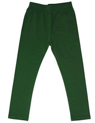 high5-Solid-Big-Girls-Cotton-Legging-Dark-Green-11-12