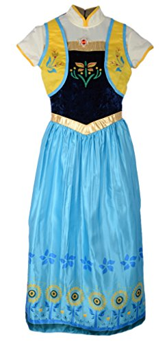 frozen fever anna fancy dress costume