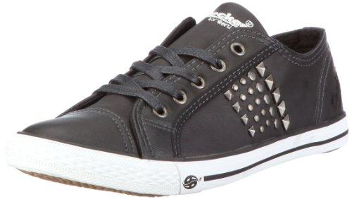 Dockers 296201-340001, Damen Sneaker, Schwarz (schwarz 001), EU 38