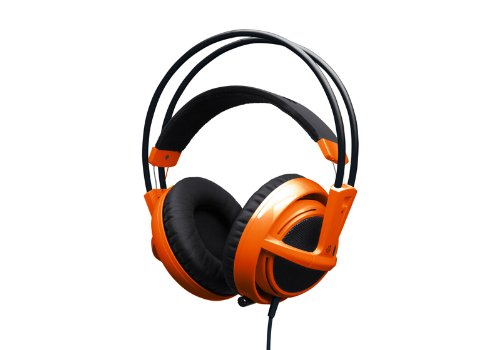 SteelSeries Siberia v2 Full-size Headset(フルサイズヘッドセット)Orange  51106