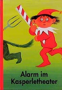 Buchdeckel von Alarm im Kasperletheater