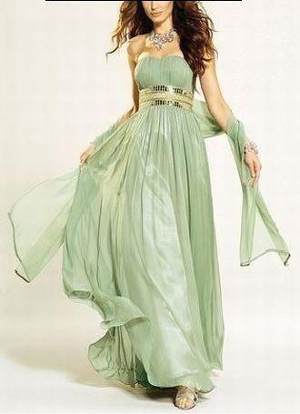 APART Corsagen Kleid Abendkleid pastelgrün