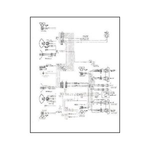 1968 Pontiac Firebird Wiring Diagram Manual Reprint