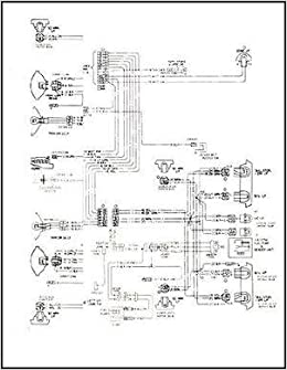 1968 Pontiac Tempest, LeMans, & GTO Wiring Diagram Manual