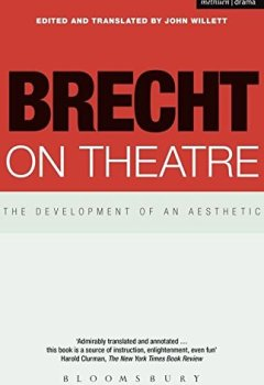 Livres Couvertures de Brecht on Theatre: The Development of and Aesthetic
