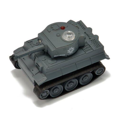「ラジ・コンバット USB 戦車RC ティーガーI」世界最小!iPad&iPhone用戦車型RC 赤外線 RC・iPhone5、iPad mini 対応