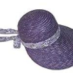 Apple Blossom Bonnet Hat Greatlookz Colors: Violet