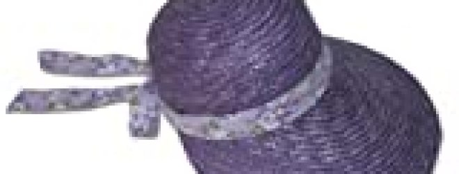 Apple Blossom Bonnet Hat Greatlookz Colors: Violet