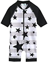 Vaenait Baby 0-24M Baby Swimsuit Infant Boys Rashguard Swimwear With Star Baby