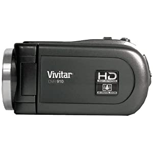 Vivitar DVR910 8.1MP 720P High-Definition Digital Video Camera