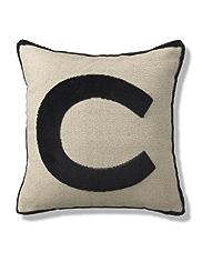 Letter C Cushion