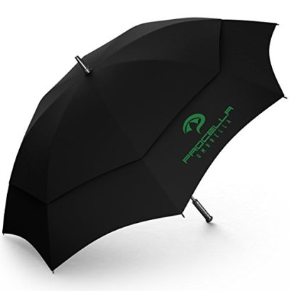 Procella-Umbrella-Golf-Umbrella-62-Inch-Large-Tested-By-Skydivers-Windproof-Auto-Open-Rain-Wind-Resistant-Black