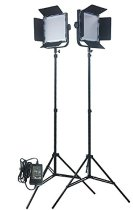 Fancierstudio-576-LED-Light-Panel-Kit-Video-Lighting-Kit-Lighting-Kit-Two-576-LED-Panels-With-7ft-Lightstand-By-Fancierstudio-Fan576k2
