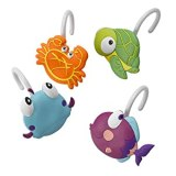 Beach Shower Curtain Hooks