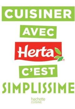 Livres Couvertures de Cuisiner avec Herta c'est SIMPLISSIME