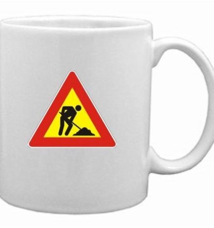 Men at Work Mug