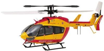 Hirobo-SRB-EC145-SECURITE-CIVILE-FS72MHzUSM2-Helicopter-Model-Building-Kit